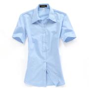 女士工装衬衫DVG01-301(可用同货号长袖裁短袖)