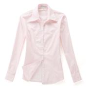 佐馬仕女式純粉色職業襯衫VG01-302
