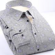 海澜之家剪标保暖衬衫064