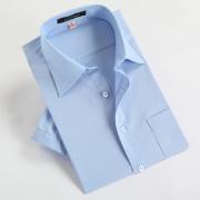 男士工装短袖衬衫D1307(可用同货号长袖裁短袖)