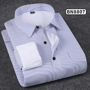 2018佐马仕新款男士纯色商务保暖衬衫BN8807