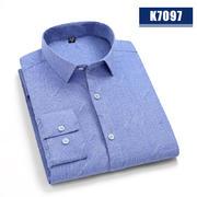 2020佐马仕春秋新款高档男士长袖衬衫K7097
