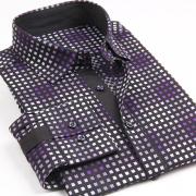 新款全棉特惠款长袖衬衫321F