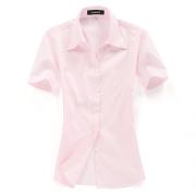 女士工装衬衫DVG2004(可用同货号长袖裁短袖)