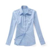佐馬仕女式純藍色職業襯衫VG01-301