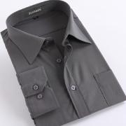 灰色男士襯衫 1311