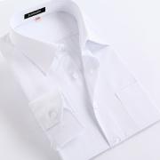 淡蓝色隐竖条纹衬衫G1002