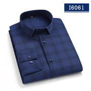 2020佐馬仕春秋新款高檔男士長袖襯衫I6061