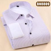 2018佐马仕新款男士纯色商务保暖衬衫BN8809