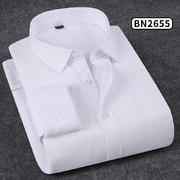 2018佐马仕新款男士纯色商务保暖衬衫BN2655
