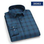 2020佐馬仕春秋新款高檔男士長袖襯衫I6063