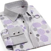 新款全棉特惠款長袖襯衫040F